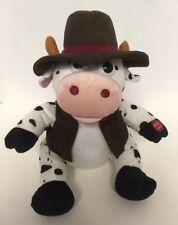 Chantilly Lane COW Bull Singing Animated Plush ACHY BREAKY HEART Stuffed PBC D7