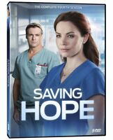 Saving Hope Fourth Season 4 DVD