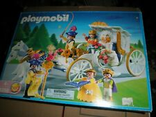 Playmobil 4258 Royal Wedding Carriage Playset Retired Sealed New Old Stock
