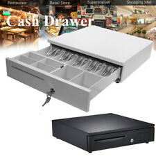 5 Bill 6 Coin Cash Register Drawer Box Works Compatible Tray POS Printers