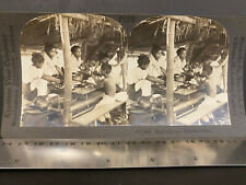 Phillipines 1890-1900s, STEREO VIEW COMPANY #P120, MEALTIME AT HOME