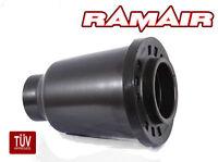 RAMAIR Performance Enclosed Cold Air Foam Filter CAI Universal 70-90mm in Black