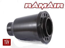 RAMAIR Performance Enclosed Cold Air Foam Filter CAI Universal 70-90mm in Black