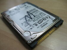 "IDE Hard Drive 60GB Hitachi 2.5"" HTS541060G9AT00 WinDFT Tested w/ Log #C101CM"