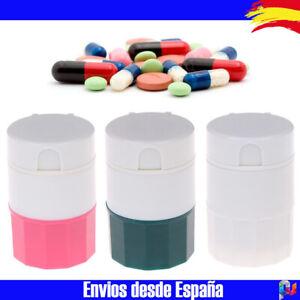 Pastillero Clasificador Cortador Pulverizador de pastillas. Colores a elegir PP