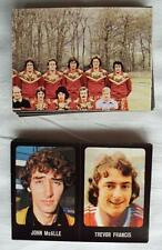 55x FOOTBALL 79/80 STICKERS TRANSIMAGE EXCELLENT CONDITION NOT CUT 1979 1980