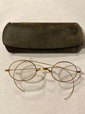 Antique Gold-filled Signed Eyeglasses Bifocal Spectacles Glasses