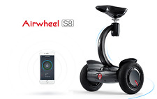 Airwheel S8 Self balancing wheel with seat free ship fromUs(only Black in stock)
