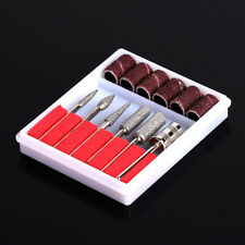 Nail Art 6 Drill File Bits Set Tool for Acrylic Manicure Machine Carver SH