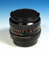 Auto Revuenon MC 1:1.4/50mm Objektiv lens objectif für Pentax K - (101970)