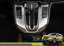 1X 3 Color Stainless Steel Shift Gears Trim Cover Panel For Honda CRV CR-V 2017