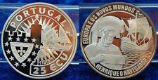 Portugal 25 Ecu Heinrich der Seefahrer. PP, 1994, Silber 1000 PP (proof)