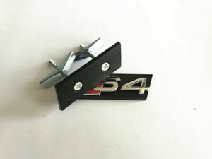 S 4 Grill Badge Front Emblem Bracket ABS Nameplate Fit For Audi S3 S4 S5 S6
