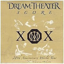 Score-20th Anniversary World Tour von Dream Theater | CD | Zustand gut