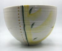 """Handcrafted Studio Art Pottery 10"""" Salad Bowl signed by artist"""