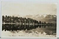 Montana Near the Shore of Finley Point 1930s Polson To Benchland Postcard J20