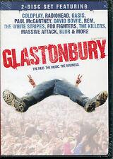 GLASTONBURY THE MUD, THE MUSIC, THE MADNESS (2007 DVD)