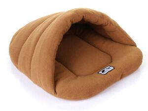 Warm Hundebett Katzenbett Katzenhöhle Haustierhöhle Welpe Schlafsack Korb S