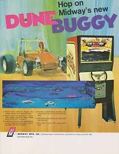 1972 MIDWAY DUNE BUGGY ARCADE FLYER