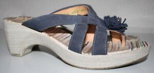 Think Sandale Pantolette, Gr.40, Lagenlook