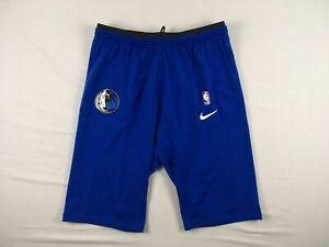 Dallas Mavericks Nike Shorts Men's Blue Dri-Fit NEW 2XL