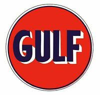Gulf Oil Sticker Vinyl Decal 4-467