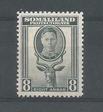 SOMALILAND PRO 1942 G6TH 8a GREY SG,111 M/MINT LOT 6301A