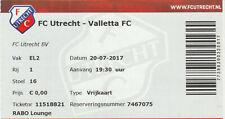 FC Utrecht-Valletta FC Europa League 20-07-2017