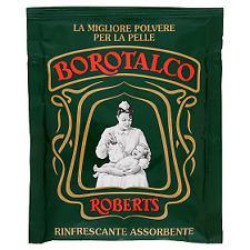 Roberts BOROTALCO Polvere di Talco Sacchettini 100 G - per il Corpo Bebè