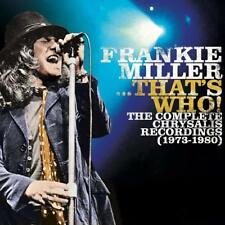 Audio CD Frankie Miller - That's Who Complete chrysalis Recordings 1973-80