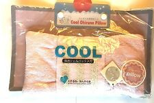 Cool Pillow Pink Gel Sleep Washable Summer Cooling Sleeping Cold Cute F/S