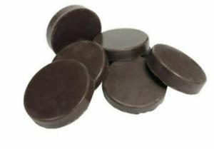 NO STRIPS, HOT HARD FILM WAX DISCS facial & bikini WAXING - 500g Brown Chocolate