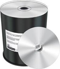 100 MediaRange CD-R DIAMANT Ober- Unterseite SILVER 700Mb Bedruckbar printable