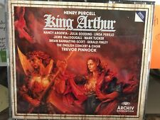 Purcell: King Arthur / Pinnock - 2 CD - Import - **Excellent Condition** - RARE