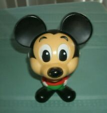 New listing 1976 Mickey Mouse Chatter Chum Pull String Talking Toy Mattel-Talks! Free Ship
