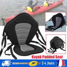 Kayak Coussin Luxe Rembourré Bateau Siège Portable Doux Réglable Base+Sac