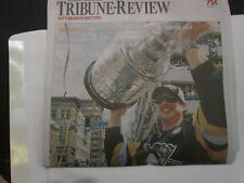 Penguins Stanley Cup Parade Tribune Review Newspaper Edition - 2016