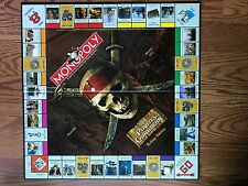 Pirates of the Caribbean Monopoly Trilogy REPLACEMENT Game Board Instruction New