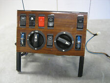 Mercedes W126 Euro Heater Control HVAC w/Zebrano Wood Panel 1980-1985 500SEL