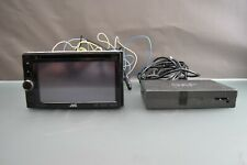 Original JVC Car Radio KW-NSX1 Touchscreen Bluetooth DVD + Smart Phone Adapter
