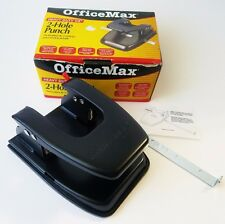 "Hole Punch New Old Stock In Box Office Max 30 page 1/4"" 2 Heavy Duty Taiwan"