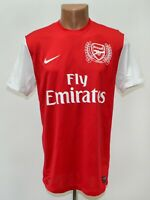 ARSENAL LONDON 2011/2012 ANNIVERSARY HOME FOOTBALL SHIRT JERSEY NIKE SIZE M
