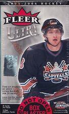2005-06 NHL Fleer Ultra Hockey ..8Ct Blaster Box..  Factory Sealed Free Shipping