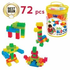 EDU BLOCKS [ 72 PCS ] For Toddler Builders Toy Building Block