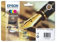 Epson T1626 Multipack 16 für Workforce WF-2010 WF-2510 WF-2520 WF-2530 WF-2540