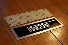 Encom Coin Door Plate (for Tron arcade)