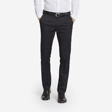 NWT Weekday Warrior Tuesday Black Tailored Fit Pants from Bonobos, Size 29 X 30