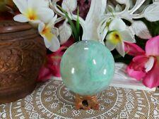 Green Moonstone Spiritual Grounding Crystal-Gemstone Divination 716 gms  (GEM41)