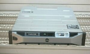 """DELL COMPELLENT SC200 E04J001 3.5"""" STORAGE ARRAY WITH 2x 0TW47 CONTROLLERS"""