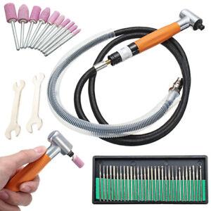 90° 3mm Micro Air Die Grinder Pneumatic Grinding Pencil Polisher Tools 70000 rpm